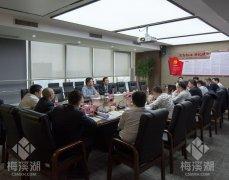梅溪湖公司党委召开2018年度党员领导 干部民主生