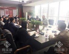 梅溪湖公司第四党支部召开2018年度组织生活会暨