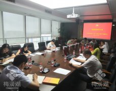 梅溪湖投资(长沙)有限公司第三党支部召开预