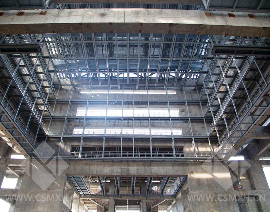 梅溪湖国际文化艺术中心钢结构施工全面启动